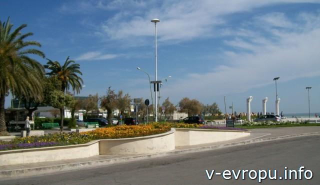 Пляжи и море Пескары