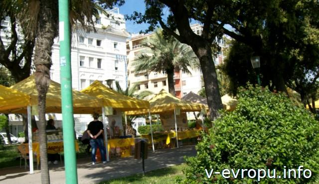 Пескара. Неподалеку от общественного пляжа