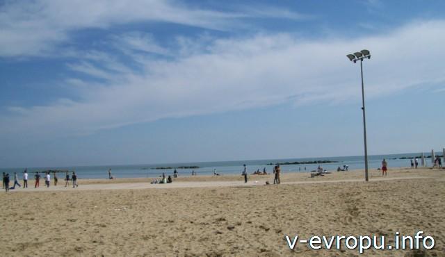 Пескара. Бесплатный пляж