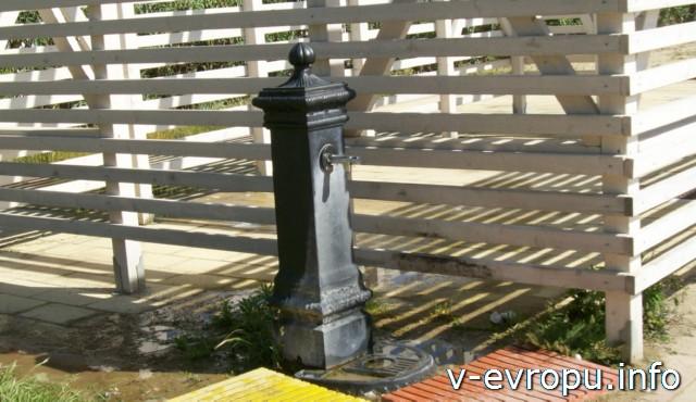 Пескара: бесплатная питьевая вода