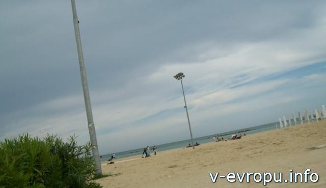 Пескара ОБщественный пляж