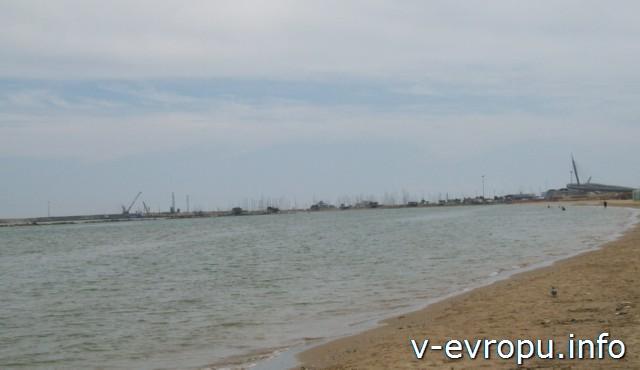 Море в Пескаре в мае