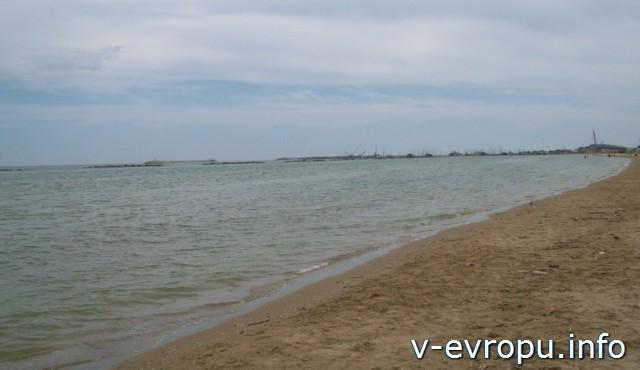 Пескара. Море и пляж