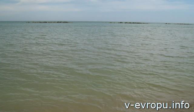 Пескара. Италия. Адриатическое море