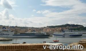Анкона. Морской порт, реконструированный Траяном