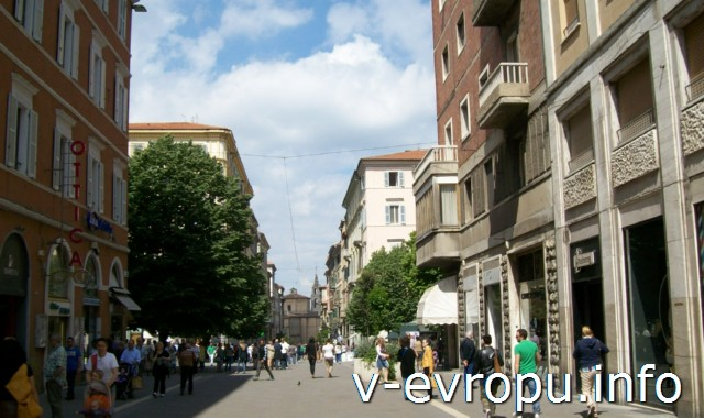 Улицы Анконы. Фото. Центр города