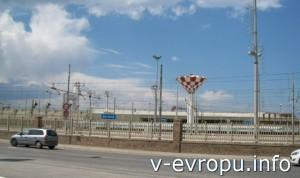 Анкона. Железнодорожный терминал по дороге в старый центр