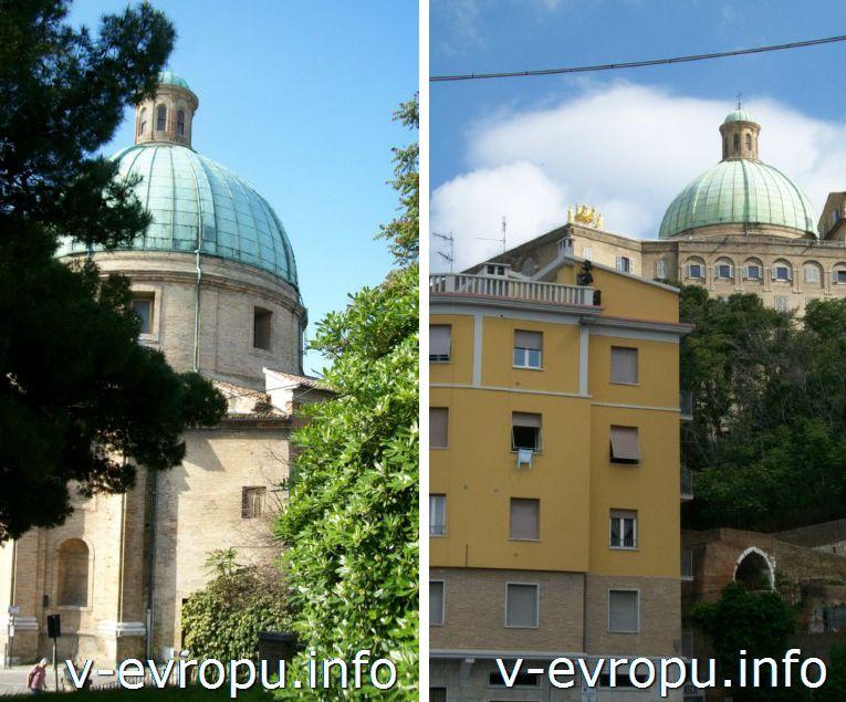 Анкона - Церковь Святых Пеллегрино и Терезы (Chiesa dei Santi Pellegrino e Teresa)