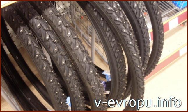 Велозапчасти в скандинавских магазинах