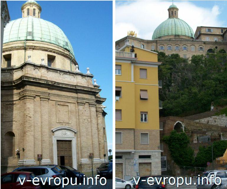 Церковь Святых Пеллегрино и Терезы в Анконе  (Chiesa dei Santi Pellegrino e Teresa)