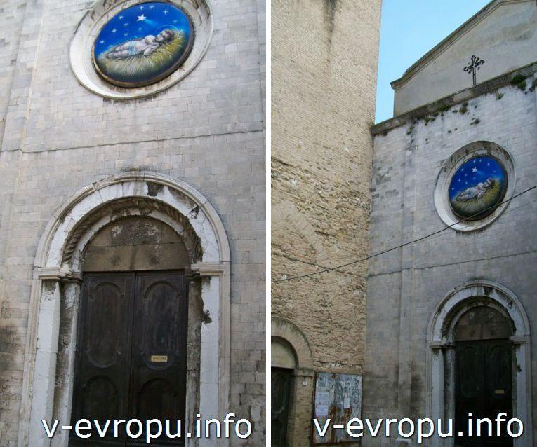 Церковь в Анконе недалеко от Цитадели