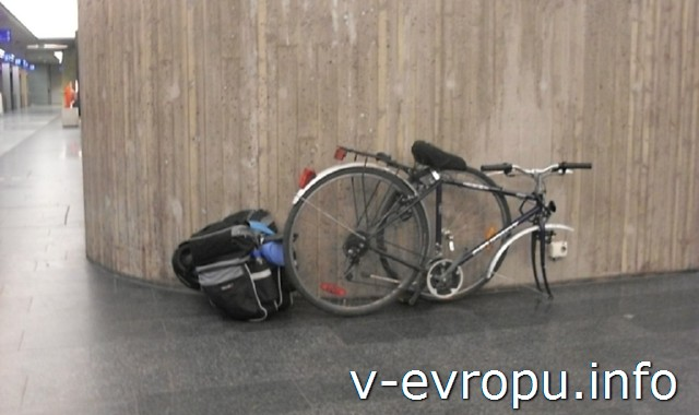 Перевозка велосипеда в европейских автобусах