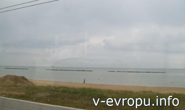 Пляжи Анконы в районе Паломбина