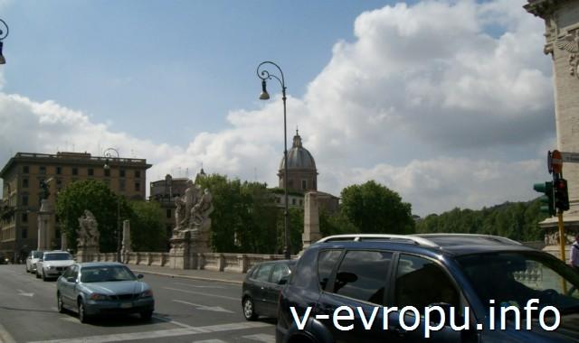 Автомобильный мост ВИтторио Эмануила-II в Риме