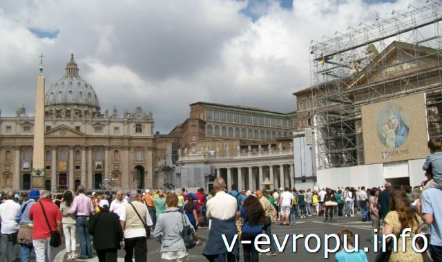Ватикан. Воскресная проповедь Папы Римского