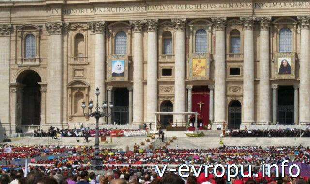 Рим. Воскресная проповедь Папы - самая необычная достопримечательность Рима