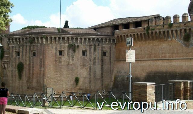 Рим для путешествий: правила самостоятельного туриста. ОБщественный туалет в районе Сан Анджело
