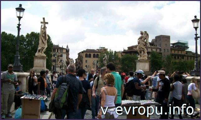 Сант Анджело - популярная достопримечательность города среди туристов