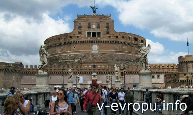 Скульптуры Ангелов Понта Сант Анджело в Риме