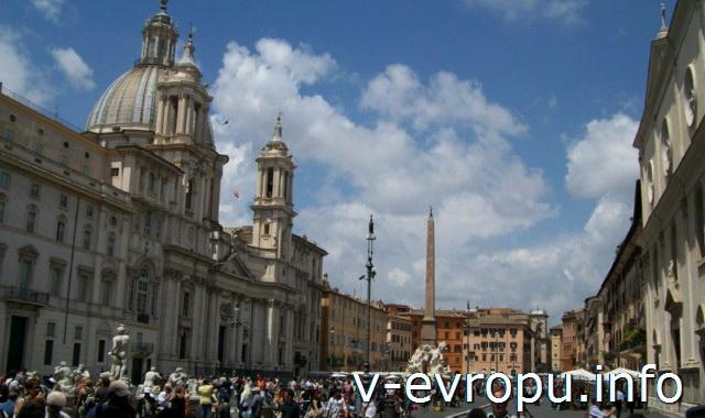 Площадь Навона в Риме