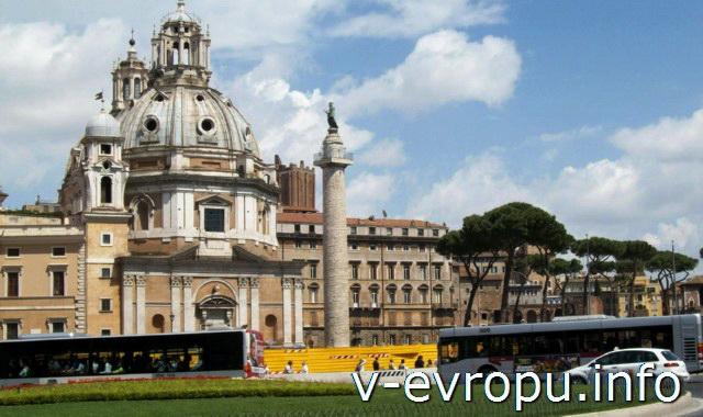 Рим. Колонна Траяна