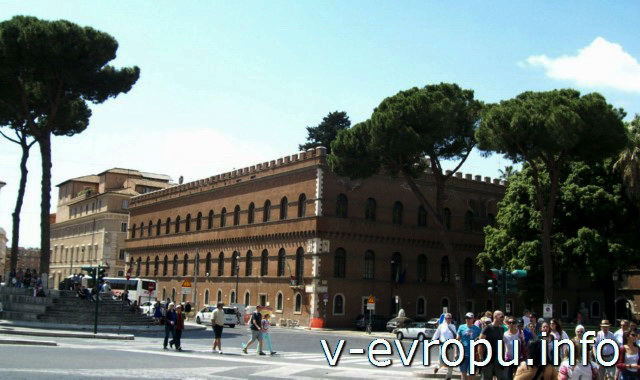 Рим. Палаццо Венеция