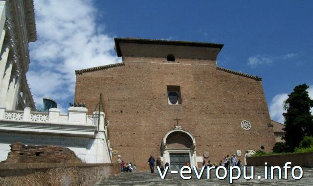 Рим. Базилика «Санта Мария ин Арачели»