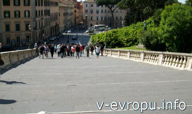 Рим. Капитолийская лестница (Кардоната)