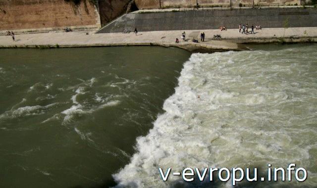 Рим. Река Тибр