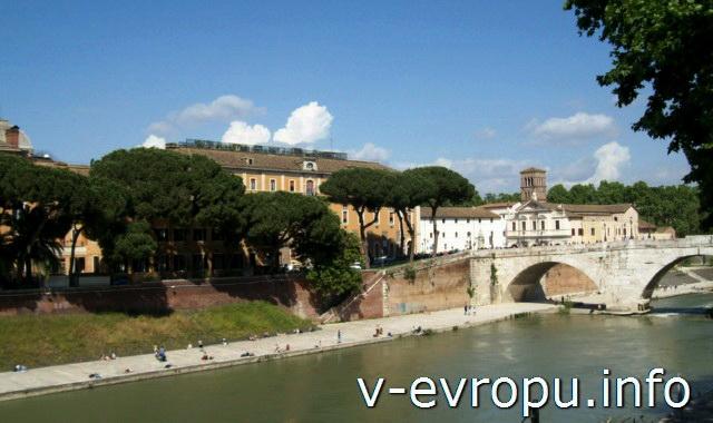 Мосты Рима. Мост Честио