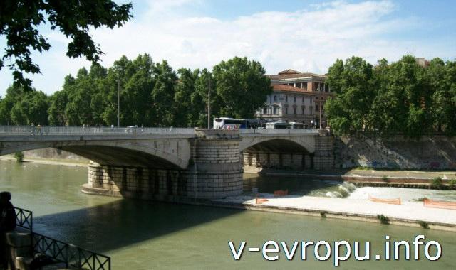 Мосты в Риме: мост Гарибальди