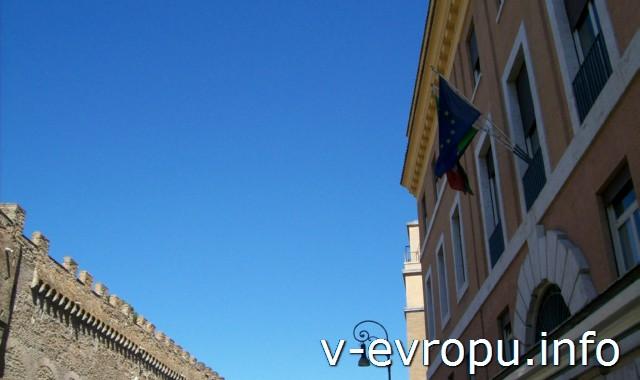 Рим. Обзорные экскурсии по Риму на автобусе. Улицы Рима со второго этажа автобуса