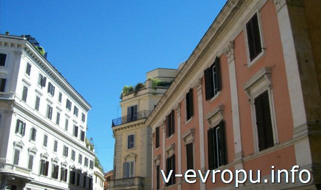 Рим. Обзорные экскурсии по Риму на автобусе. Центр города