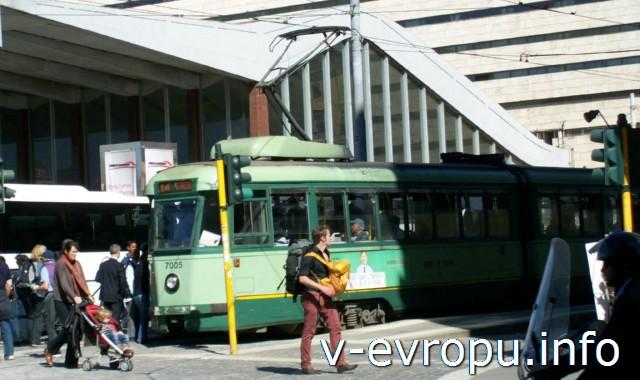 Транспорт Рима. Фото. Трамваи