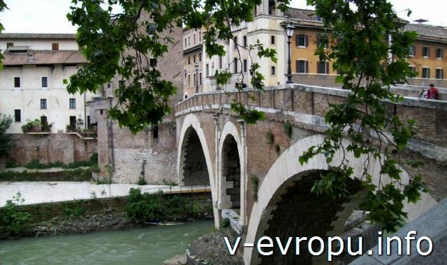 Мосты Рима. Мост Фабрицио