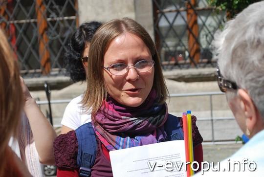 Живая встреча в Мюнхене: градовед по Мюнхену Мария Сержи