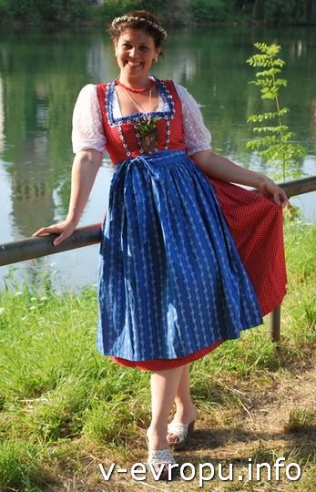 Живая встреча в Мюнхене: Елену из Воткинска - настоящая баварская барышня