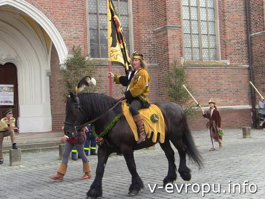 Свадьба в Ландсхуте: свадебная конница