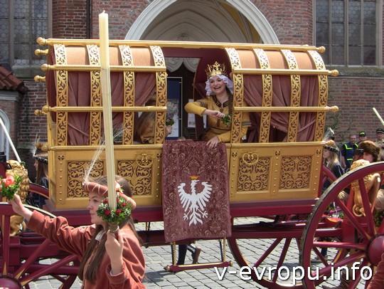 Свадьба в Ландсхуте: а вот и невеста - принцесса Ядвига