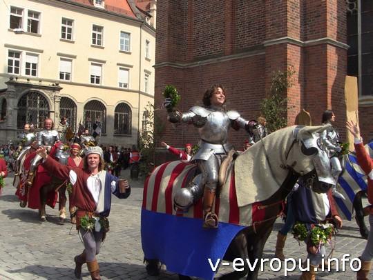 Свадьба в Ландсхуте: рыцари были так близко