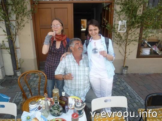 Свадьба в Ландсхуте: а я - с местным старожилом