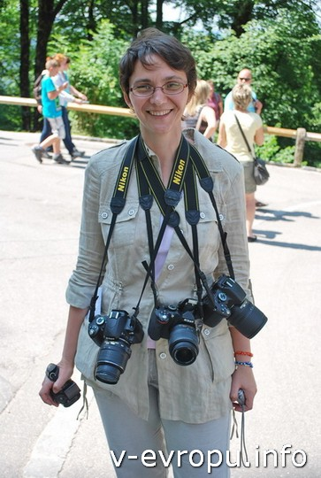 Живая встреча в Мюнхене: мне участники доверили не только свой отпуск, но и свои фотоаппараты!