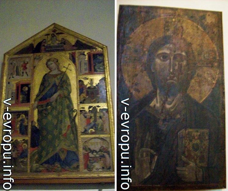 Иконографическое изображение Христа в Ватиканской Пинакотеке