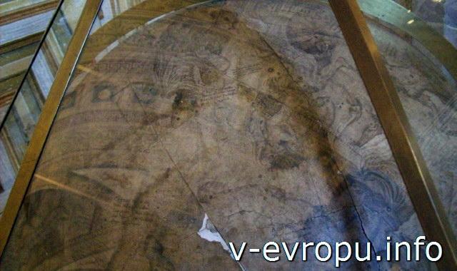 Глобус в Ватиканском Музее