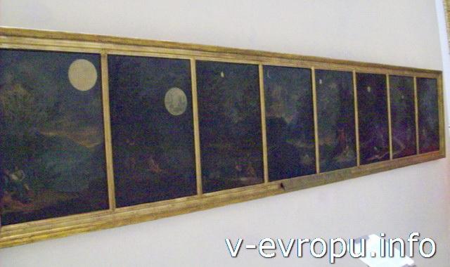 Пинакотека Ватикана. Donato Creti, Osservazioni astronomiche (1711)
