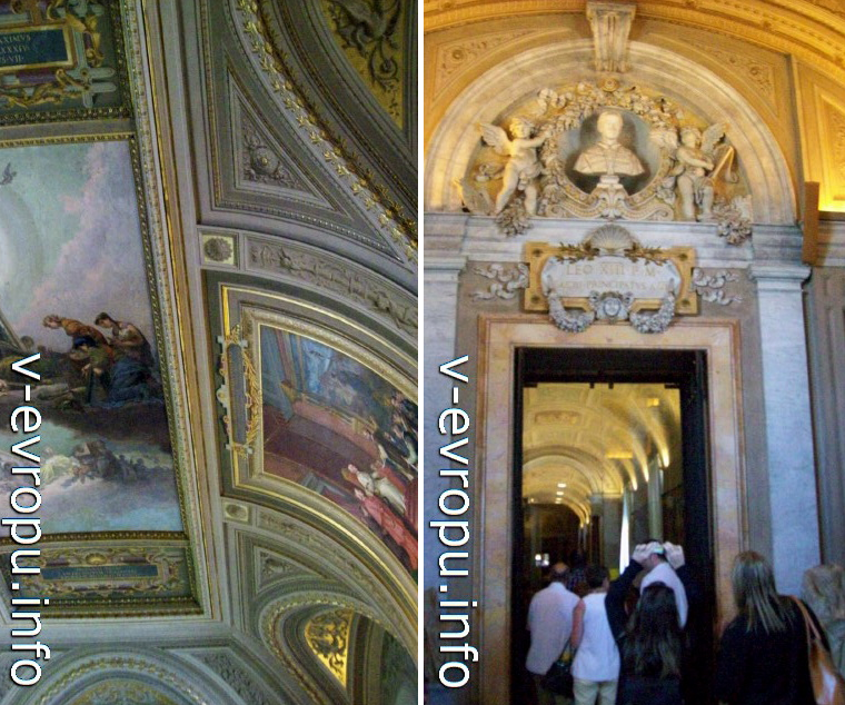 Посещение Музеев Ватикана. Фото