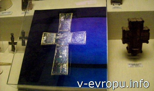 Реликварий Честного Креста в Музеях Ватикана