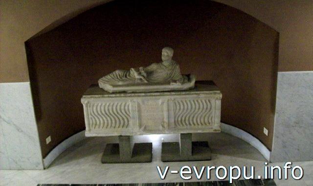 Эспонат музея Античности в Ватикане