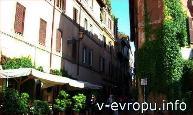 Рестораны в Трастевере в Риме