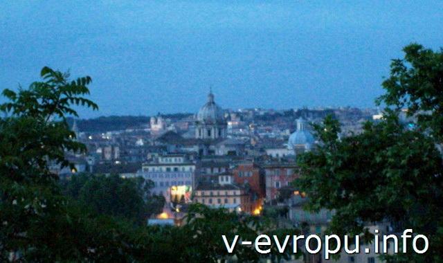 Весенний вечер в Риме